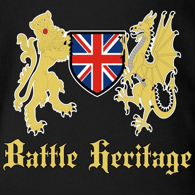 Battle Baby Dragon & Lion Logo