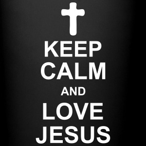 keep_calm_and_love_jesus_g1 Bottles & Mugs - Full Colour Mug