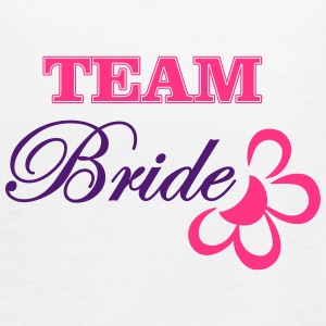 bride TEAM with flower Top - Top da donna della marca Bella