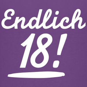 Endlich 18 T-Shirts - Teenager Premium T-Shirt