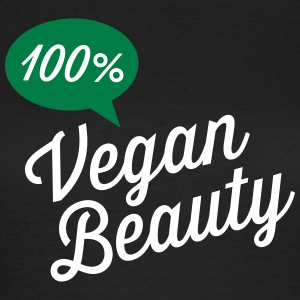 100% Vegan Beauty T-Shirts - Women's T-Shirt