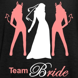 team bride devil angel Tops - Women's Tank Top by Bella
