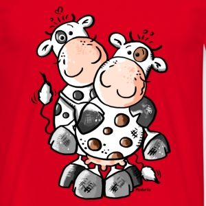 Cuddly Cows - Cow T-Shirts - Men's T-Shirt