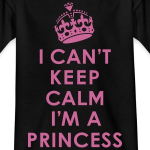 Can't Keep Calm /Princess Shirts - Kids' T-Shirt