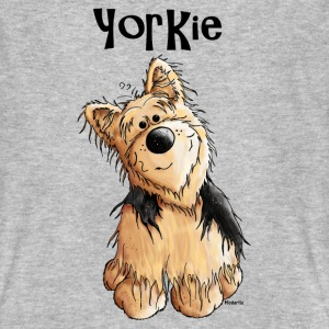 Doux Yorkshire Terrier Tee shirts - T-shirt bio Homme