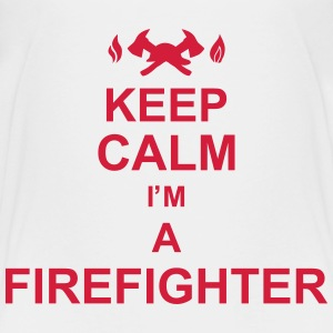 keep_calm_I'm_a_firefighter_g1 Skjorter - Premium T-skjorte for barn