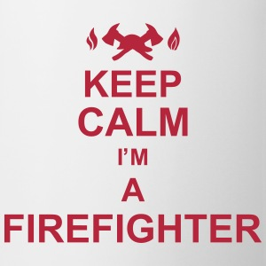 keep_calm_I'm_a_firefighter_g1 Flaschen & Tassen - Tasse