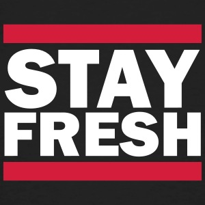 Stay Fresh (Retro) T-shirts - Mannen Bio-T-shirt