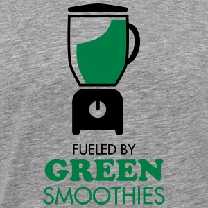 Fueled By Green Smoothies T-Shirts - Männer Premium T-Shirt