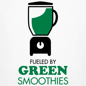 Fueled By Green Smoothies T-shirts - Ekologisk T-shirt herr