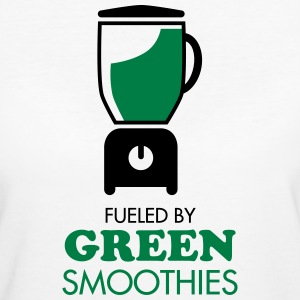 Fueled By Green Smoothies T-shirts - Vrouwen Bio-T-shirt