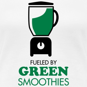 Fueled By Green Smoothies T-shirts - Vrouwen Premium T-shirt