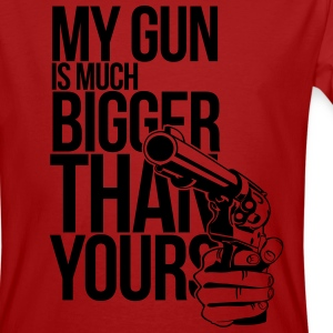 My gun is much bigger than yours 2 T-Shirts - Men's Organic T-shirt