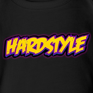 Hardstyle / Rave / Jumpstyle Shirts - Organic Short-sleeved Baby Bodysuit