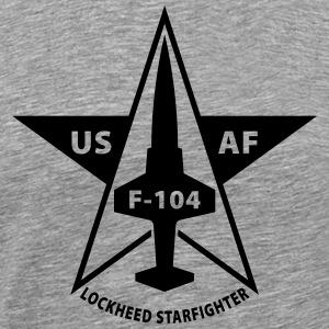 Lockheed Starfighter T-Shirts - Men's Premium T-Shirt