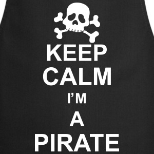 keep_calm_I'm_a_pirate_g1 Delantales - Delantal de cocina