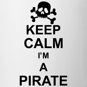 keep_calm_I'm_a_pirate_g1 Bottiglie e tazze - Tazza