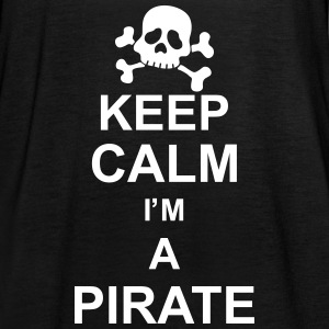 keep_calm_I'm_a_pirate_g1 Tops - Camiseta de tirantes mujer, de Bella