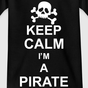 keep_calm_I'm_a_pirate_g1 Camisetas - Camiseta adolescente