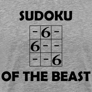 Sudoku of the Beast - Männer Premium T-Shirt