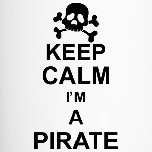 keep_calm_I'm_a_pirate_g1 Flaschen & Tassen - Thermobecher