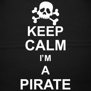 keep_calm_I'm_a_pirate_g1 Accessoarer - Babymössa