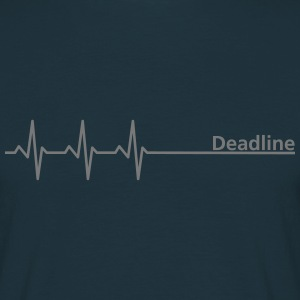 Deadline ;) - T-skjorte for menn