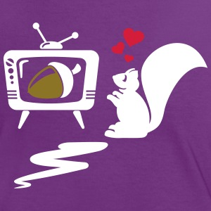 Squirrel T-Shirts - Women's Ringer T-Shirt