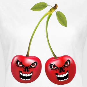 cherries cerises skull T-Shirts - Frauen T-Shirt