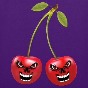 cherries cerises skull Bags & Backpacks - Tote Bag