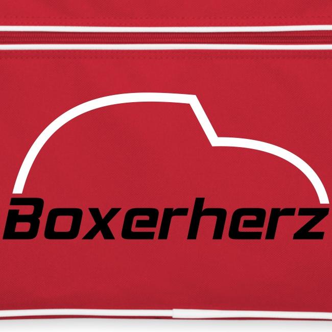 Boxerherz Retrotasche