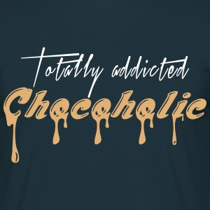 Totally addicted Chocoholic - M1 - Männer T-Shirt
