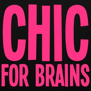 CHIC for Brains Tote - Tote Bag