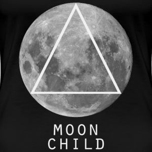 Moon Child Tee shirts - T-shirt Premium Femme