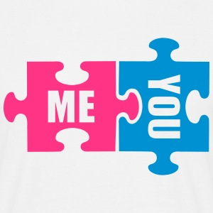 Puzzle me you T-Shirts - Männer T-Shirt