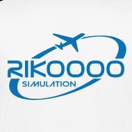 Motif ~ Tee shirt Premium Homme Logo Rikoooo arrière