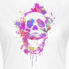Cool & Trendy Watercolor Skull T-Shirts