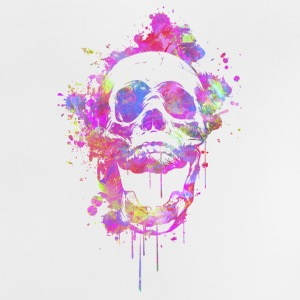 Cool & Trendy Watercolor Skull Tee shirts - T-shirt Bébé