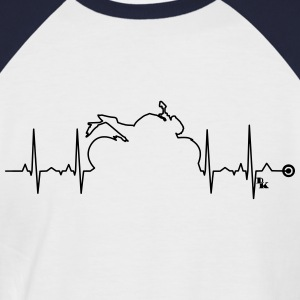 heart bike Vect1  by DK Tee shirts - T-shirt baseball manches courtes Homme