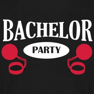 Bachelor Party, Fußfessel T-Shirts - Männer T-Shirt