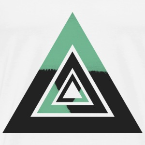 Complexe de Triangles Tee shirts - T-shirt Premium Homme