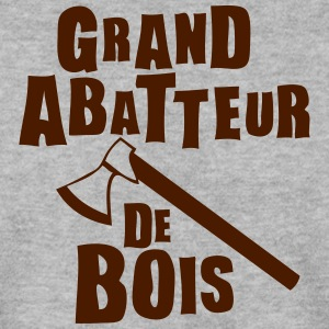 grand abbateur bois expression Sweat-shirts - Sweat-shirt Homme
