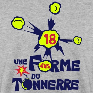 18 ans une forme du tonnerre anniversair Sweat-shirts - Sweat-shirt Homme