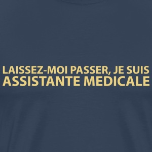 assistante_medicale Tee shirts - T-shirt Premium Homme