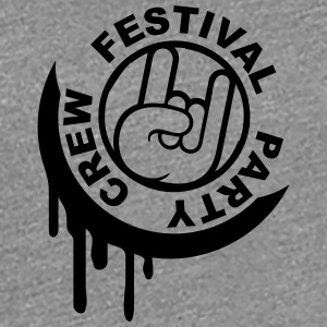 Festival Party Crew Stamp T-Shirts - Women's Premium T-Shirt