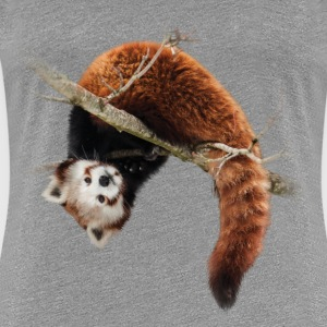 Red panda in the tree T-Shirts - Women's Premium T-Shirt