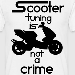 Scooter tuning is not a crime! Vol. III HQ T-Shirts - Männer T-Shirt