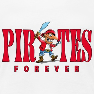 pirates_forever_07201403 T-Shirts - Frauen Premium T-Shirt