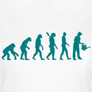 Evolution Gärtner T-Shirts - Frauen T-Shirt