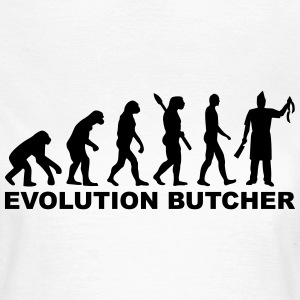 Evolution Butcher T-Shirts - Frauen T-Shirt